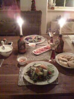 eten met Cathelijne