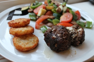 Recept #3: gehaktballen met kaas en ui