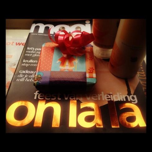cadeautje aan lezers Sinterklaas