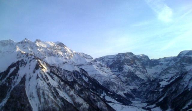 Wintersport 2012 uitzicht