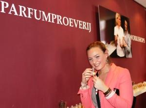 Parfum proeverij event 28 sept 2012