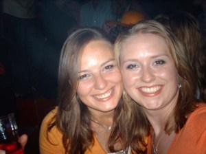 Cath en ik Q-nacht 2007 Veritas