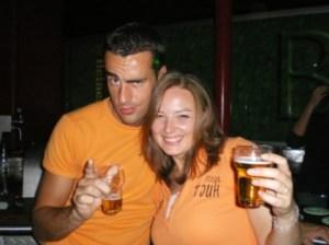 Manfred en ik introductie 2007