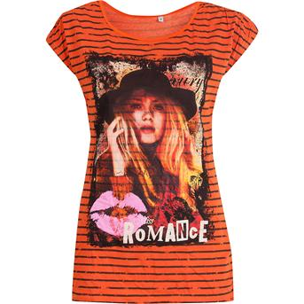 Scapino oranje meisjes shirt
